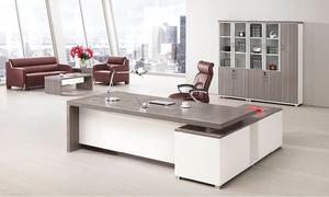 银松木办公桌 H70-0166