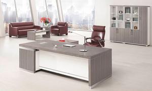 银松木经理桌 H70-0165