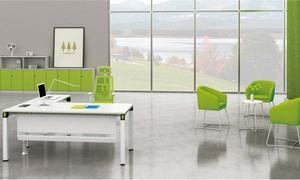 鹦鹉绿主管桌H50-0102