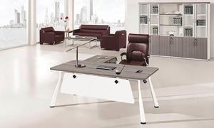 银松木老板桌 H70-0170