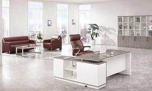 银松木办公桌H70-0176